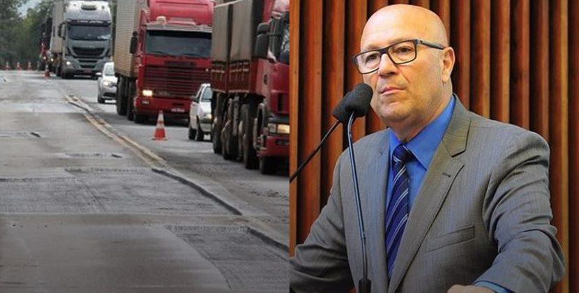 Romanelli reitera urgência  na recuperação das rodovias do Noroeste e Norte Pioneiro