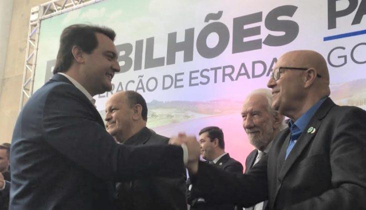 Em Sertaneja, Romanelli e Ratinho Junior anunciam investimentos para 14 cidades